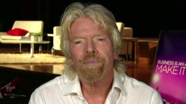 Sir Richard Branson on Virgin Group's business events, Apple's Tim Cook