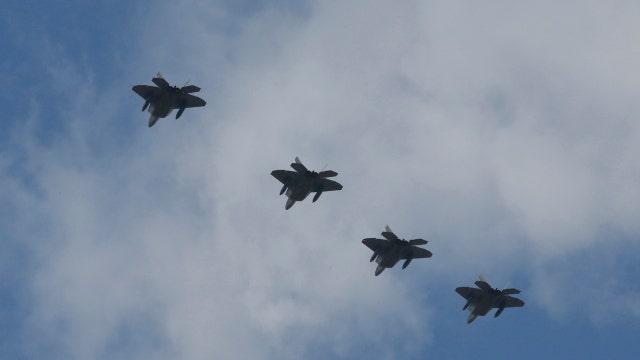U.S. stealth jets fly over South Korea amid standoff with North Korea