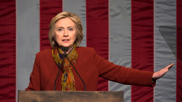 Hillary Clinton goes after Republicans by barking like a dog