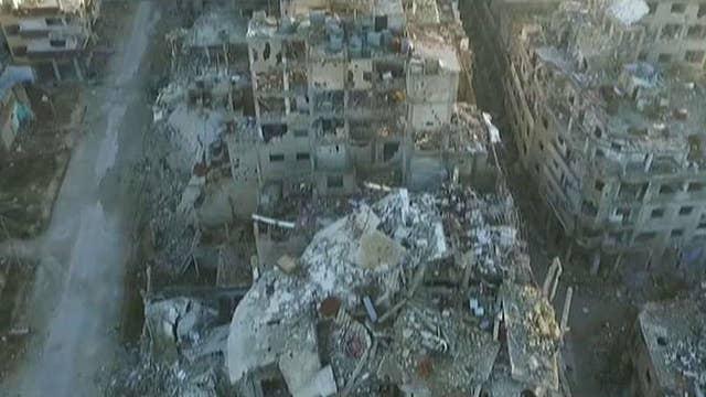 Russian airstrikes targeting rebels in Syria