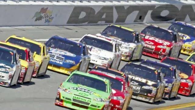 Darrell Waltrip, Jeff Gordon on the Daytona 500