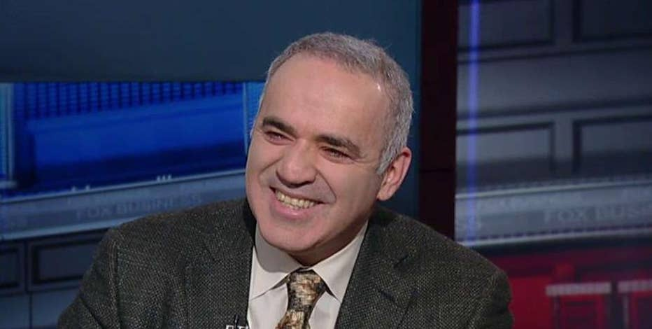 Russian Chess Grandmaster Champion Garry Kasparov on Russian President Vladimir Putin denying warplanes conducted airstrikes on Syrian hospitals and his take on the 2016 election.