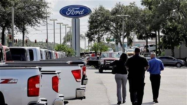 Ford betting on cheap gas