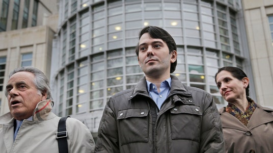 Martin Shkreli's Attorney Tells Him to Remain Silent