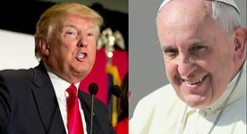 Trump calls Pope Francis political
