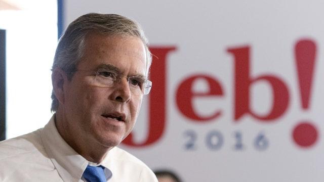 Was George W. Bush's speech for Jeb effective?