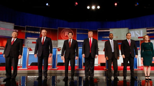 Which GOP candidate can benefit most from current economic conditions?