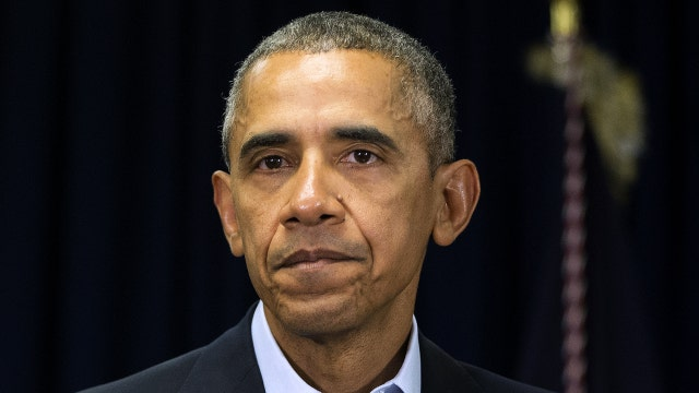 Obama too silent after attacks on police?