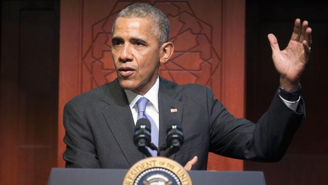 President Obama visits Baltimore mosque