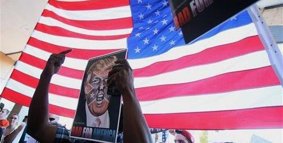 Maricopa County Sheriff Joe Arpaio on anti-Trump protests.