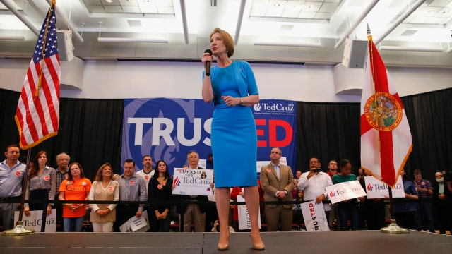 Carly Fiorina: The only guy who can beat Donald Trump is Ted Cruz