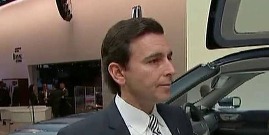Ford CEO Mark Fields on how his company is prepared to deal with terror threats, Donald Trump's comments on slapping a tariff on vehicles and corporate taxes and tech privacy.