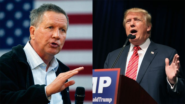 Kasich, Trump and the battle for Ohio