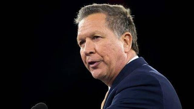 Kasich: Obama should be home, not in Cuba