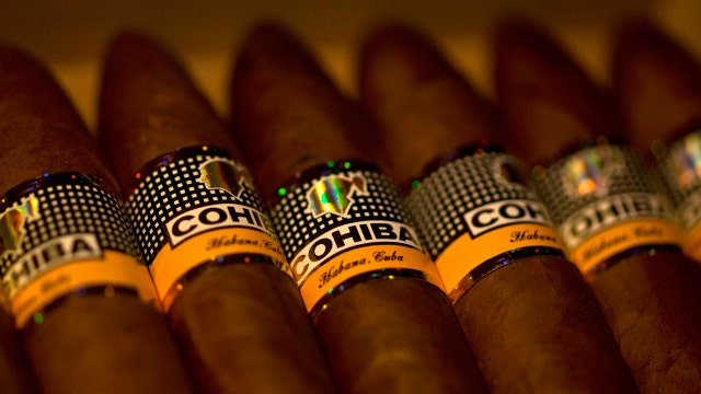Efforts to end the embargo on Cuban cigars