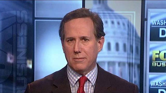 Santorum:  Rubio felt like he needed to fight fire with fire