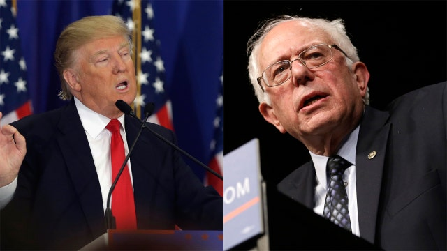 Trump and Sanders win in Michigan