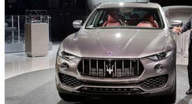 Maserati unveils SUV at New York Auto Show