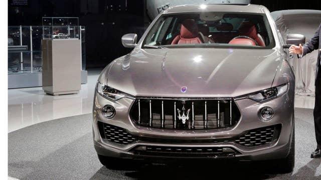 Maserati unveils SUV at New York Auto Show