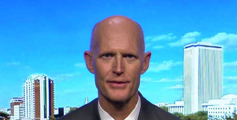 Governor Rick Scott (R-FL) says Donald Trump is the outsider and business person the voters are asking for in a leader.