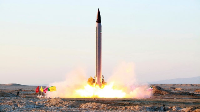 Iran conducts another missile test