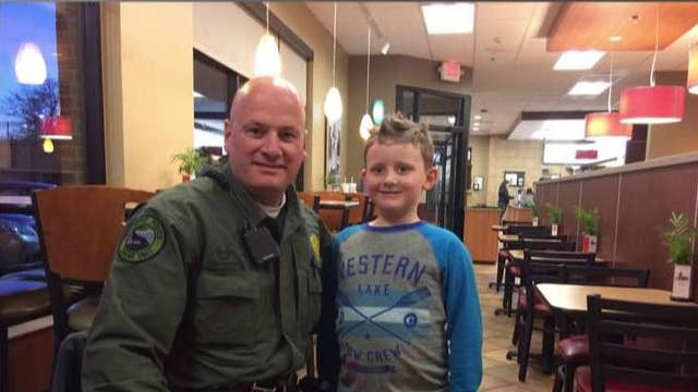 7-year-old gives police officer heartwarming thank you note
