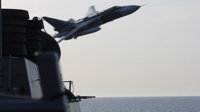 Fmr. Pentagon official: Russia shows lack of respect with jet fly-by