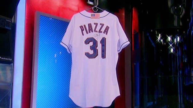 Dispute over auction of Piazza's post 9/11 jersey
