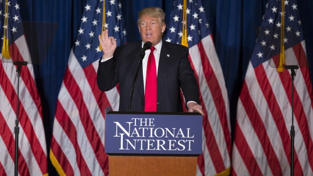 A closer look at Donald Trump's foreign policy speech