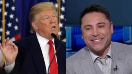 Oscar De La Hoya: I'll come out of retirement to fight Trump