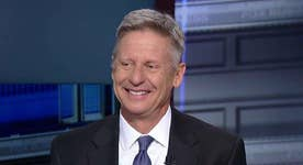 Gary Johnson on criminal immigrants release