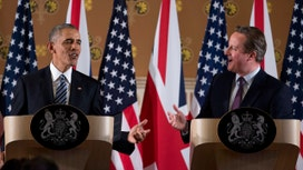 Did Obama add to any tension between Britain and the EU?