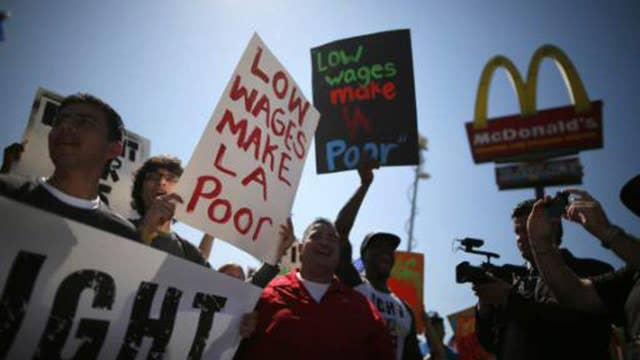 Former McDonald's CEO on minimum wage debate