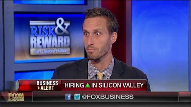 Tech companies are hiring at a fast pace