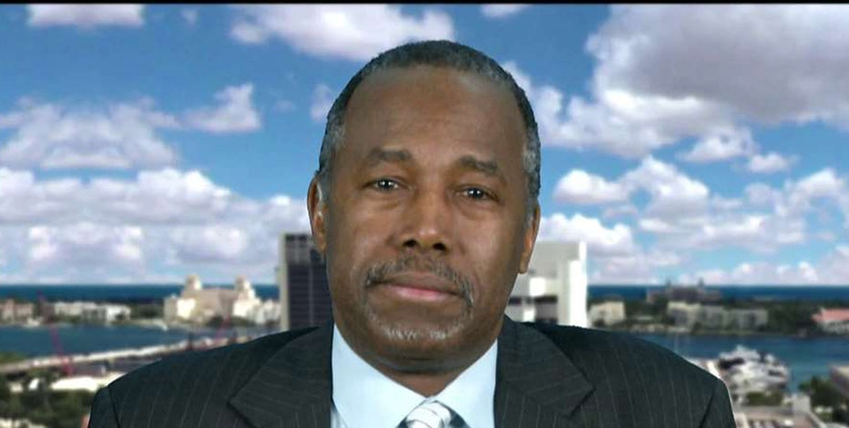 Former GOP Presidential Candidate Dr. Ben Carson on Donald Trump's presidential bid.
