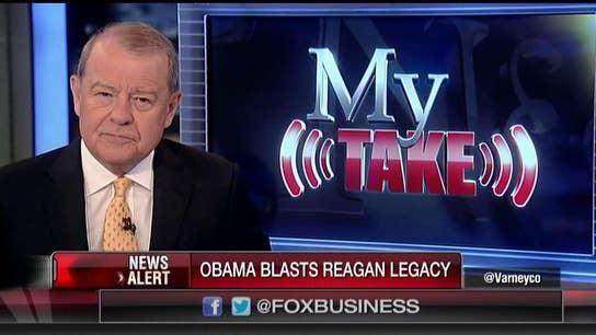 Varney: Obama denigrating Reagan is the height of arrogance