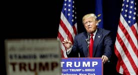 Trump holds rally in New York ahead of primary