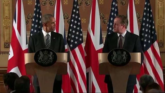 Obama op-ed causes Fleet Street frenzy