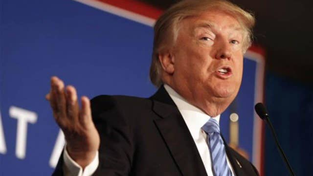 Trump changes his tune on fundraising