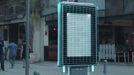 Billboards using smell technology to kill mosquitos in fight against Zika