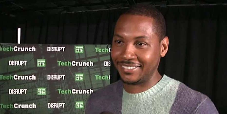 NBA All-Star and M7 Tech Partners founder Carmelo Anthony discusses his latest tech venture from TechCrunch Disrupt in New York City.