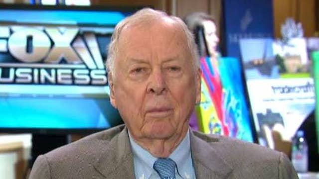T. Boone Pickens on Clinton's fossil fuel alternatives