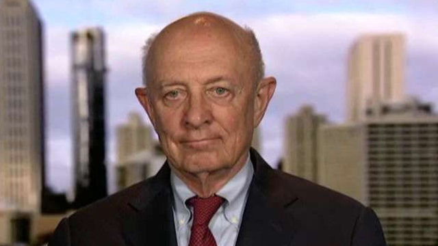 Fmr. CIA Director Woolsey: EgyptAir crash looks like an act of terror
