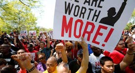 Minimum wage debate all about union dues?