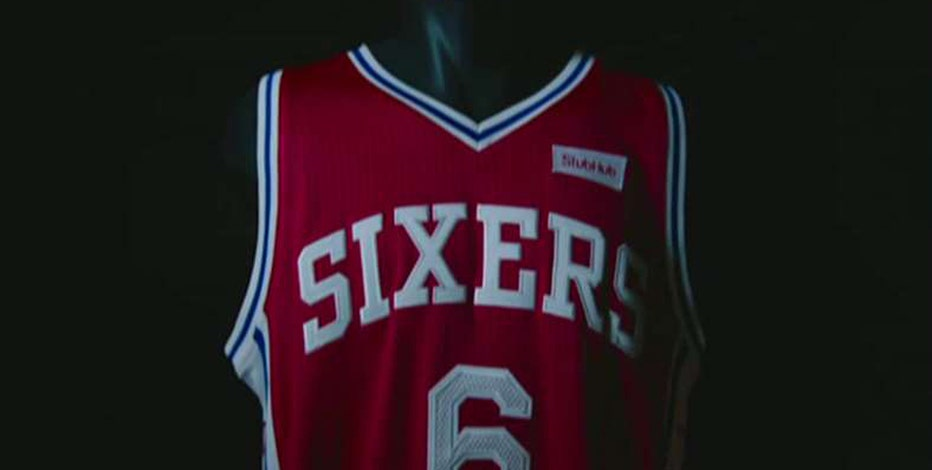 Philadelphia 76ers CEO Scott O'Neil on the team's jersey advertisements and rebuilding process.