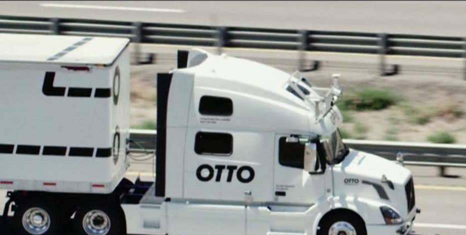 Otto Co-Founder & former Google Product Lead Lior Ron discusses the possibility of self-driving trucks becoming a reality on the road.
