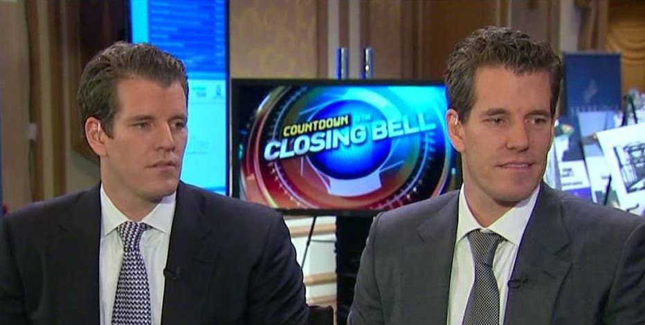 Tyler and Cameron Winklevoss, Gemini co-founders, discuss a  new venture they hope could become a Nasdaq for crypto-currency Bitcoin.