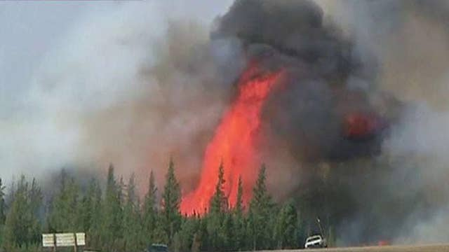 Turning point reached in fight against wildfires in Canada