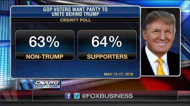 GOP voters look to unite behind Trump