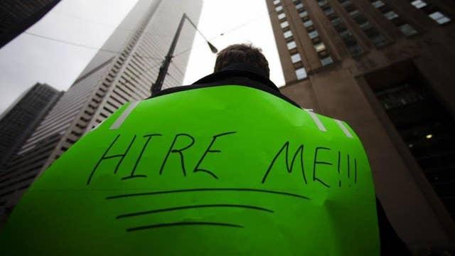 Part-time hiring stalled